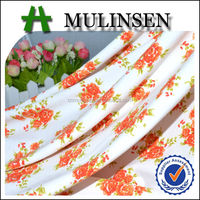 Mulinsen Textile Very Low Price Flower Printing Elastane Poly DTY Soft Knit Fabric