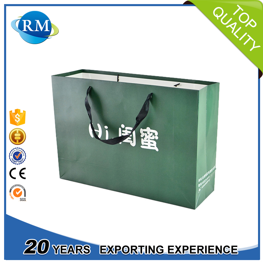 Disposable Feature Gift Paper Bag For Shopping