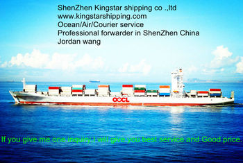 International Sea freight/shipping from ShenZhen/GuangZhou to UK