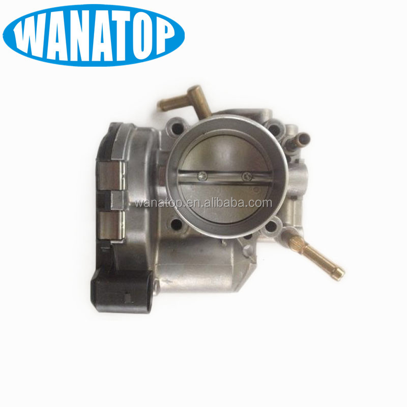 57mm Throttle Body butterfly Case 06A133062D 06A 133 062 <strong>Q</strong> 06A133062Q 0 280 750 061 for VW Bora Beetle Fox Golf Jetta 1.0-2.0L