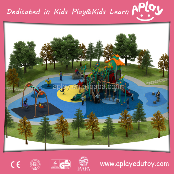 New things Challenge China innovative kids outdoor gym playset plum play equipment