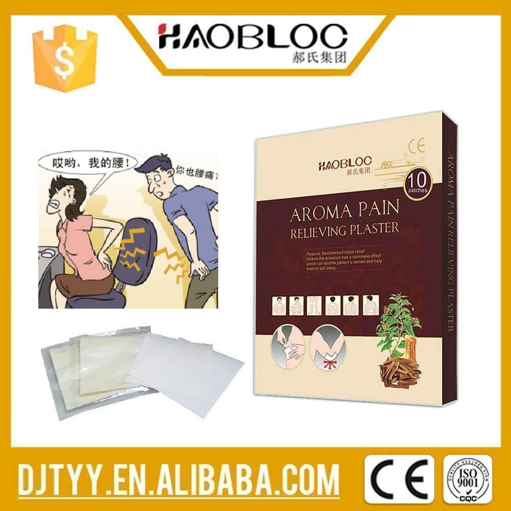 HAOBLOC Aroma Pain Relieving Patch Treating Effect On Traumatic Injury, Rheumatalgia, Pain-easing Plasters, Medicated Pain Pad