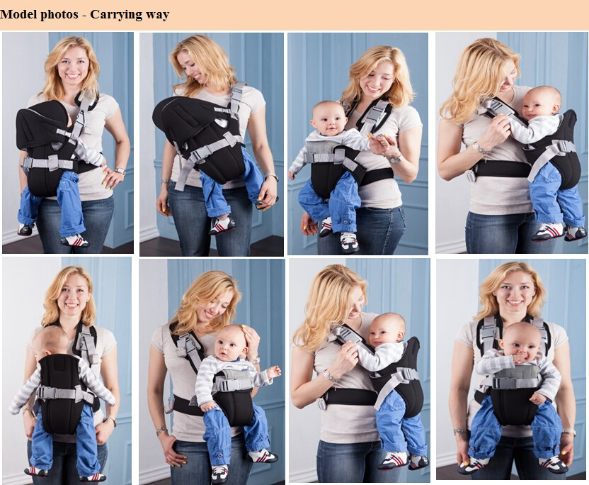 Becute China best selling baby carrier wrap Infant baby sling for newborn