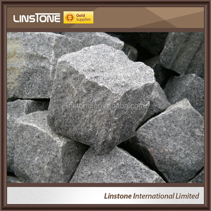 Cheap granite paving stone new pattern hexagon paver