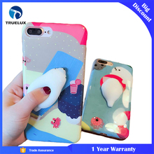 Newest Unique 3D Squishy Doll Design Soft TPU Case For iPhone 7