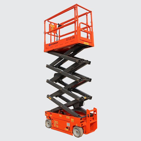 6 m hauteur de levage lectrique plate forme l vatrice. Black Bedroom Furniture Sets. Home Design Ideas