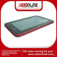 "Zenithink C71,7"" capacitive Android 2.3 Cortex A9 table pc/MID/UMPC 4GB 512MB Support USB 3G"