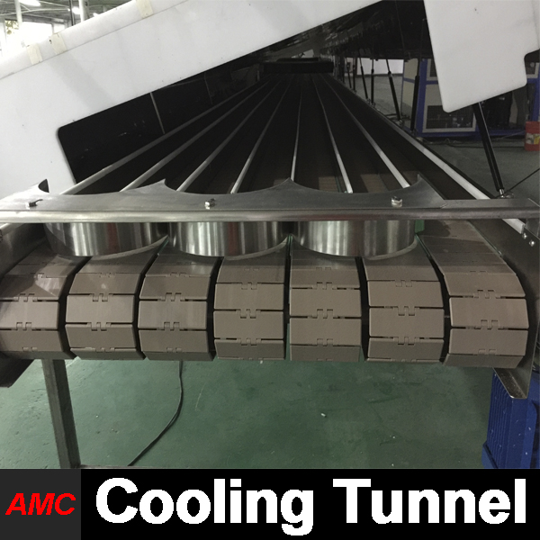 Quick Changeover Timeless Design fish conserve machine Cooling Tunnel