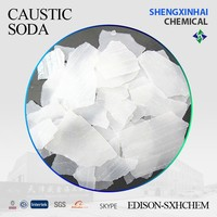 Caustic soda alkali in flake/pearls 99% min purity clear and snow white