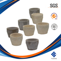 Free sample magnesium oxide cupel hunan fuqiang bone ash cupel gold assay crucible magnesia cupel