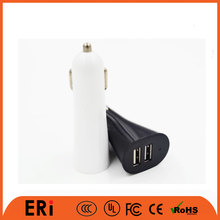 Mobile accessory 2 usb port car charger 12 volt battery charger circuit