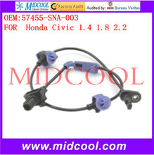 High Quality Auto Parts Front Right /Left ABS Wheel Speed Sensor OEM:57455-SNA-003