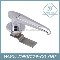 MS327 zinc alloy door lock handles without lock core