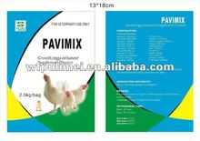 Vitamin premix for poultry with Veterinary medicine with Poultry feed additive