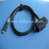 16pin obd2 to usb cable obdii test cable