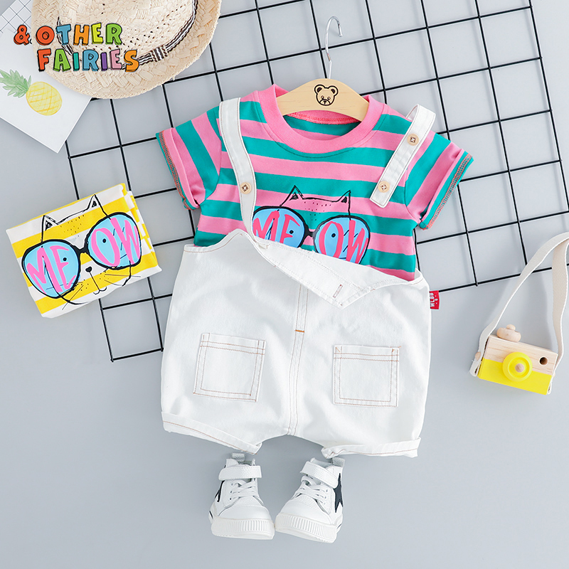 &Other Fairies 2019 fashion for boys clothes set summer european stylish cotton baby boy sets clothes children's  clothing sets