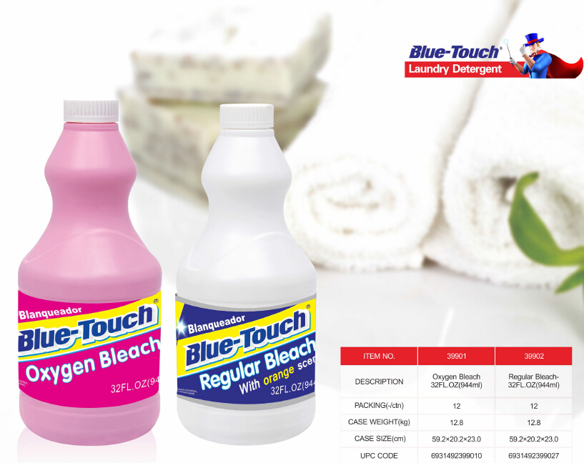 Blue-Touch Bleaching Water Bleach Detergent Clorox