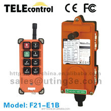 Portable Lightweight Crane Radio remote control industrial remote control for crane F21-E1B