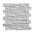 Decorstone24 Carrera Marble Interlock Stacked Stone Exterior White Tile