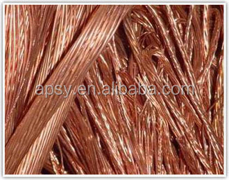 China made qualified red copper emi shielding wire mesh