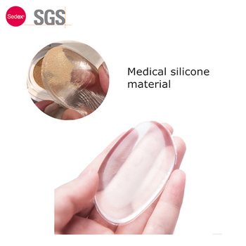 Sofeel 2017 new design china manufacture cosmetic clear washable powder foundation oval silicone makeup sponge