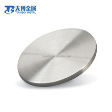 High Quality Gr1Pure Titanium Sputtering/ forging round Target