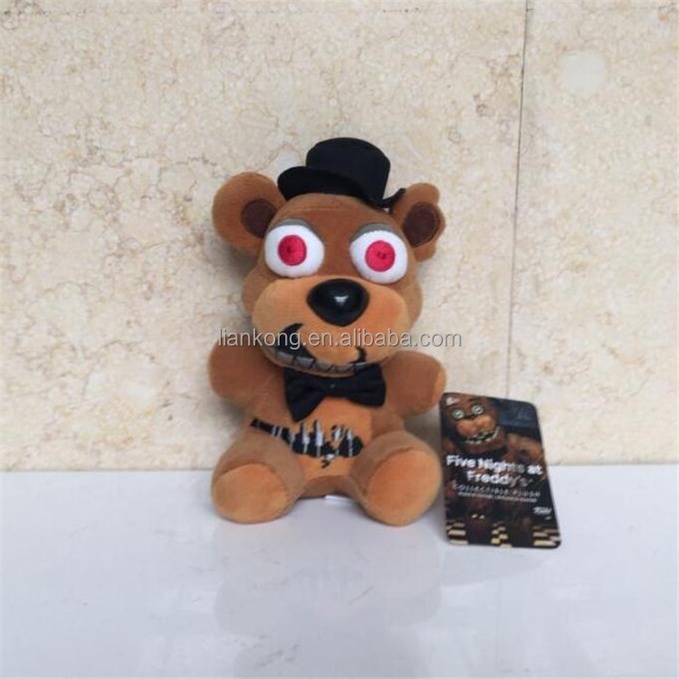 Wholesale high quality soft plush popular stuffed five nights at freddy's plush toy doll