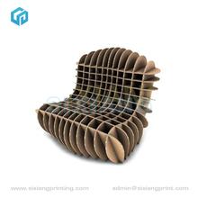 New Inventions Manufacture Cardboard Chair