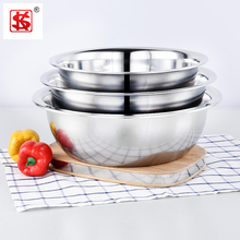 Deep and thick Stainless steel wash basin/metal basin