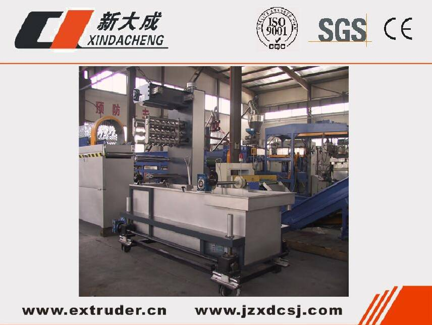 Single Wall Corrugated Pipe Production Line,PE/PVC pipe