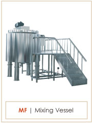 MF stainless steel pharmaceutical liquid mixer,detergent mixer/chemical mixing tank