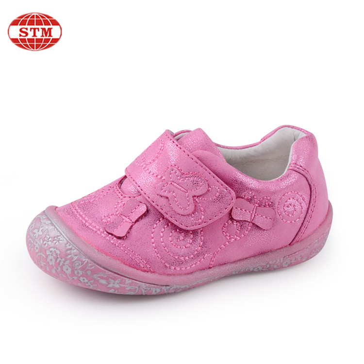 China manufacturer wholesale kid pink comfortable special baby girls leisure shoes
