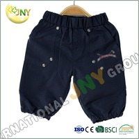 100% Cotton Black Children Harem Pants And Kids Short Pants