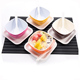 Small Plastic Dessert Melamine Bowl With Lid