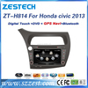 ZESTECH touch screen car dvd for honda civic with 8 inch screen TV FM DVD player Game