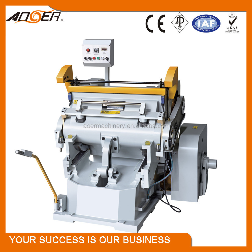 ML-930A-1040A-1100A hot sale haevy duty kiss cut manual sticky paper die cutter machine