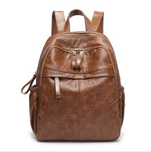 Wholesale Custom OEM women bag PU fashion guangzhou leather backpack women backpack bag <strong>school</strong>