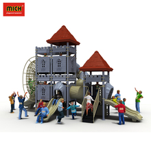 Attractive Appearance Residential Area Kids Plastic Playground Slide,Big Kids Playground Equipment