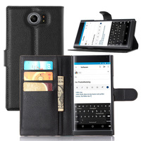 Wholesale filp case for blackberry priv stand leather case for blackberry priv