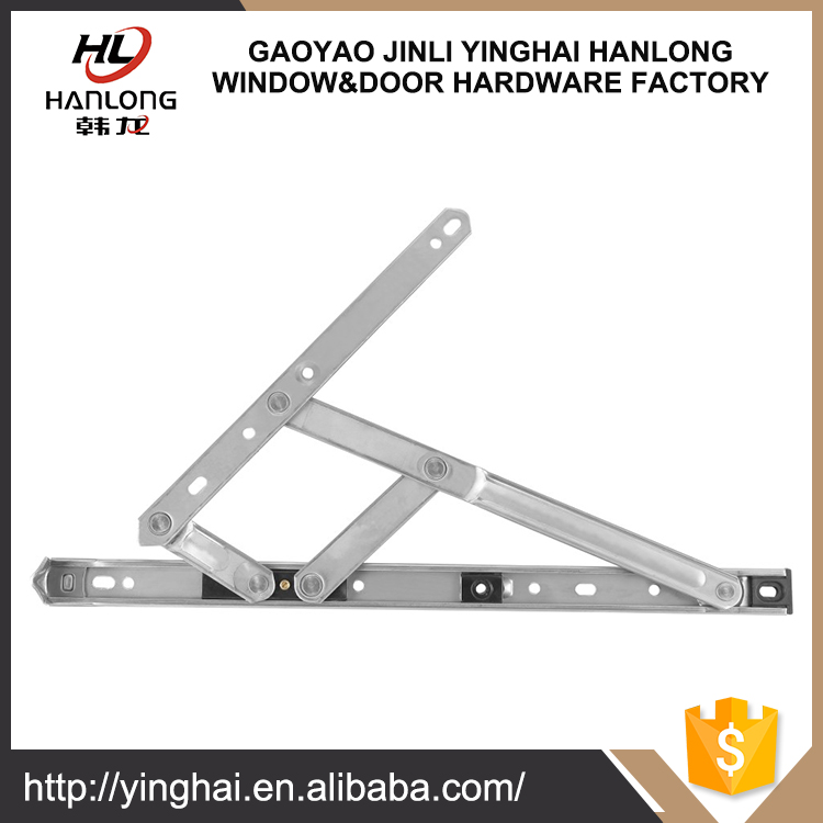 Top-hung slidng window stay hinges