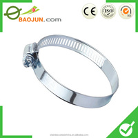 Metal hose clamp stainless still hose clip Adjustable Clamping Ring