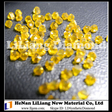 Industrial HTHP Large Monocrystal Yellow Diamond for Cutting Tools