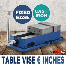 "6"" Precise Lock Vise Precision Milling Drilling Machine Bench Clamp Clamping Vice"