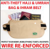 HAJJ SAFE - Hajj/Umrah Travel Waist Bags Hajj Bag Ihram Belt