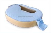 100% Polyurethane Visco Elastic Memory Foam Nursing Breast Feeding Pillow