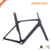2017 newest aero chinese carbon bike frame full carbon fiber road bike frame bicycle parts