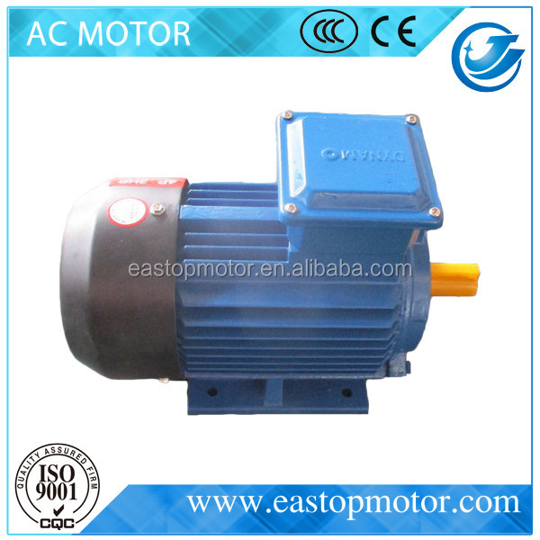 CE Approved Y3 star delta connected induction motor for transport machinery with aluminum housing