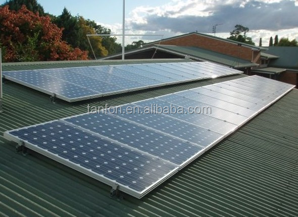 1KW 2KW solar power system for home manufacturer in foshan city / 3KW solar pv ground mounting system with cheap price