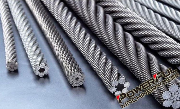 3mm Improved Construction Of High Strength Fibre Core Wire Rope for Lifting Hoist from Industries Dealers