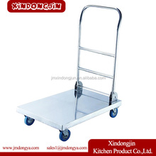FT-B1 Stainless Steel Hand Truck Folding Heavy Duty Platform Trolley